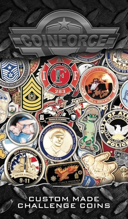 FREE Challenge Coin Quote - CLICK HERE!