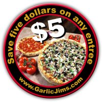 Garlic jim's coupon code