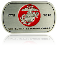 Marine Corps Challenge Coins, Custom Shape Challenge Coins