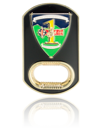 Marine Corps Challenge Coins, Bottle Opener Challenge Coins