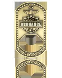 Marine Corps Challenge Coins, Bottle Opener Challenge Coins, Dog Tag Challenge Coins