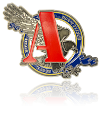 Army Challenge Coins, Custom Shape Challenge Coins
