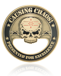 Army Challenge Coins, Bottle Opener Challenge Coins