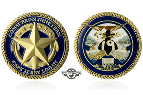 Navy Challenge Coins | Custom Challenge Coins – Veteran Owned and