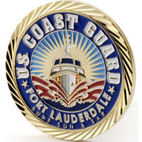 Challenge Coins, Military Coins, Coast Guard Challenge Coins, Coast Guard Coins