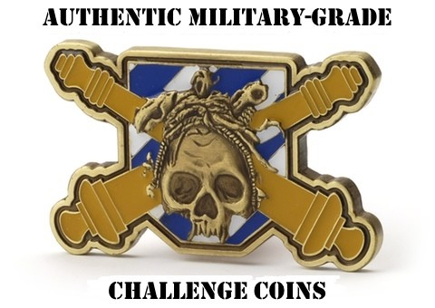 Custom Shaped Challenge Coins