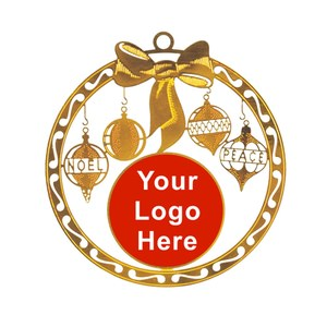QuickFAST! Christmas Ornaments - Your Logo Here!