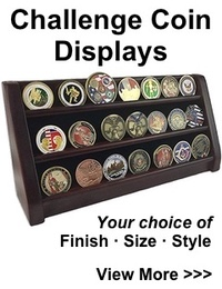 Challenge Coin Displays | Custom Challenge Coins – Veteran Owned and